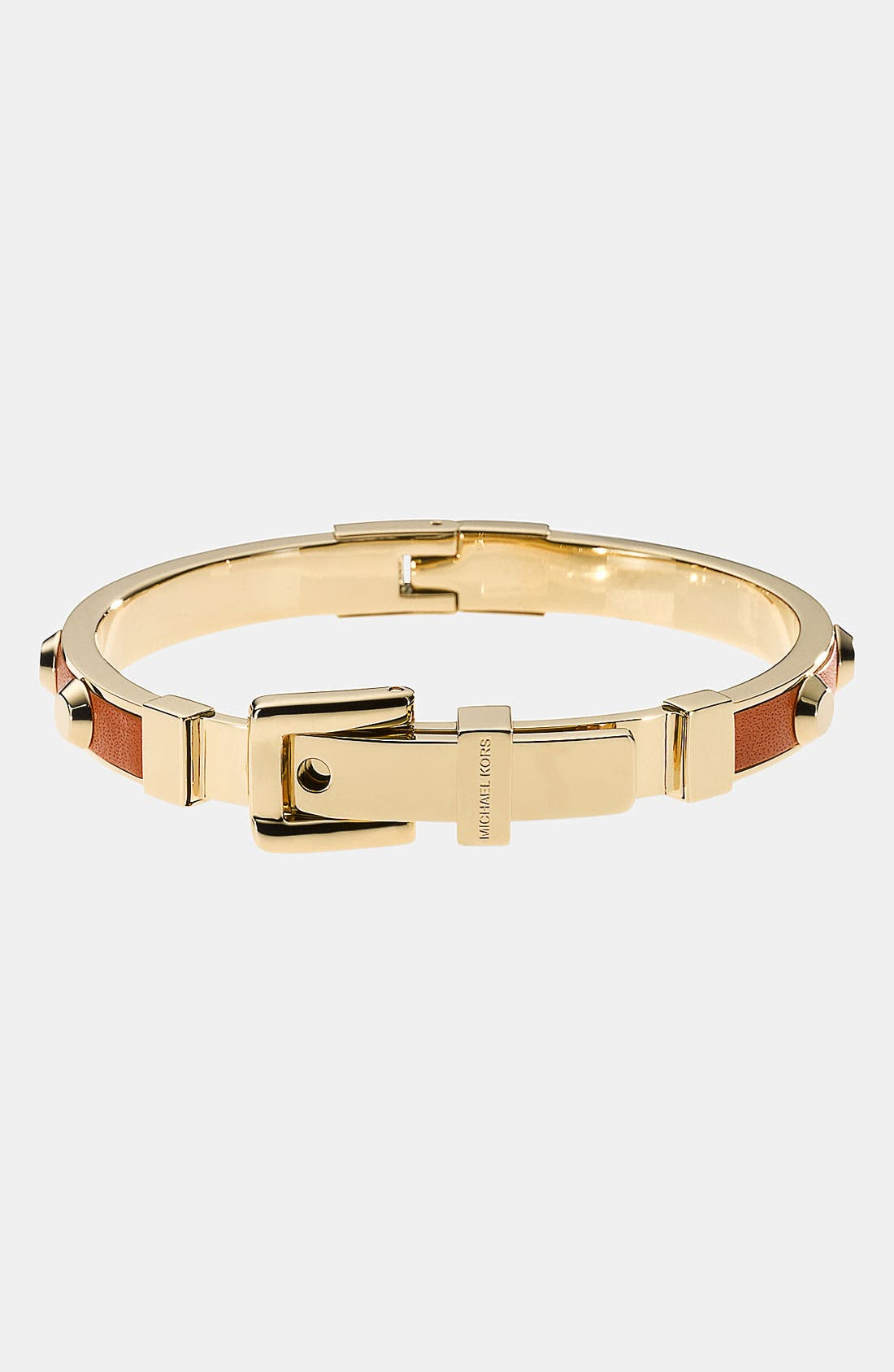 Alternate Image 1 Selected - Michael Kors 'Uptown Astor' Buckle Bangle