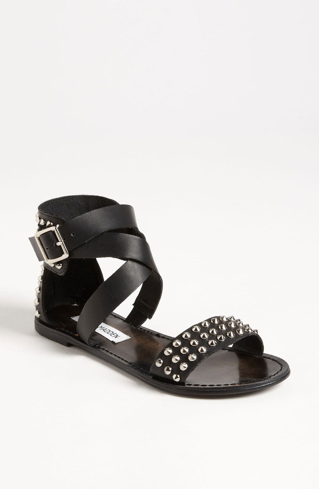 'Buddies' Sandal,                         Main,                         color, Black