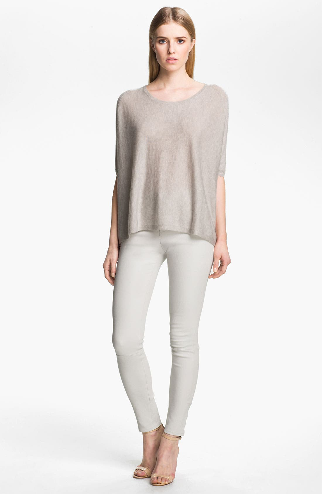 Alternate Image 4  - J Brand Ready-to-Wear 'Claudette' Stretch Leather Pants