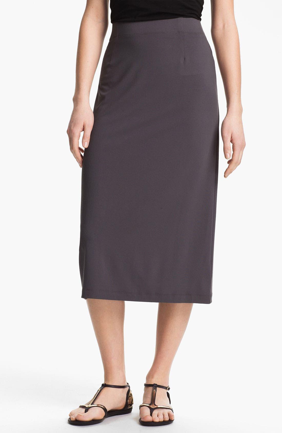 Alternate Image 1 Selected - Eileen Fisher Pull On Pencil Skirt