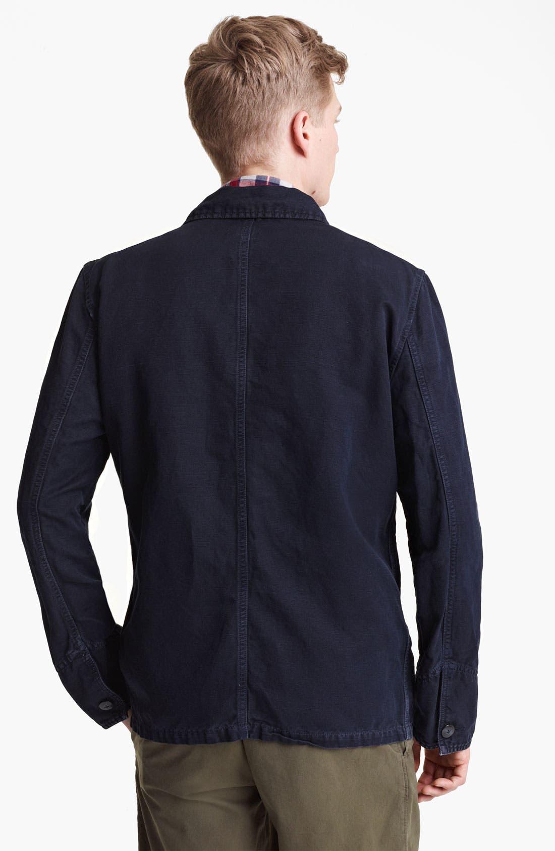 Alternate Image 2  - Save Khaki Cotton Jacket