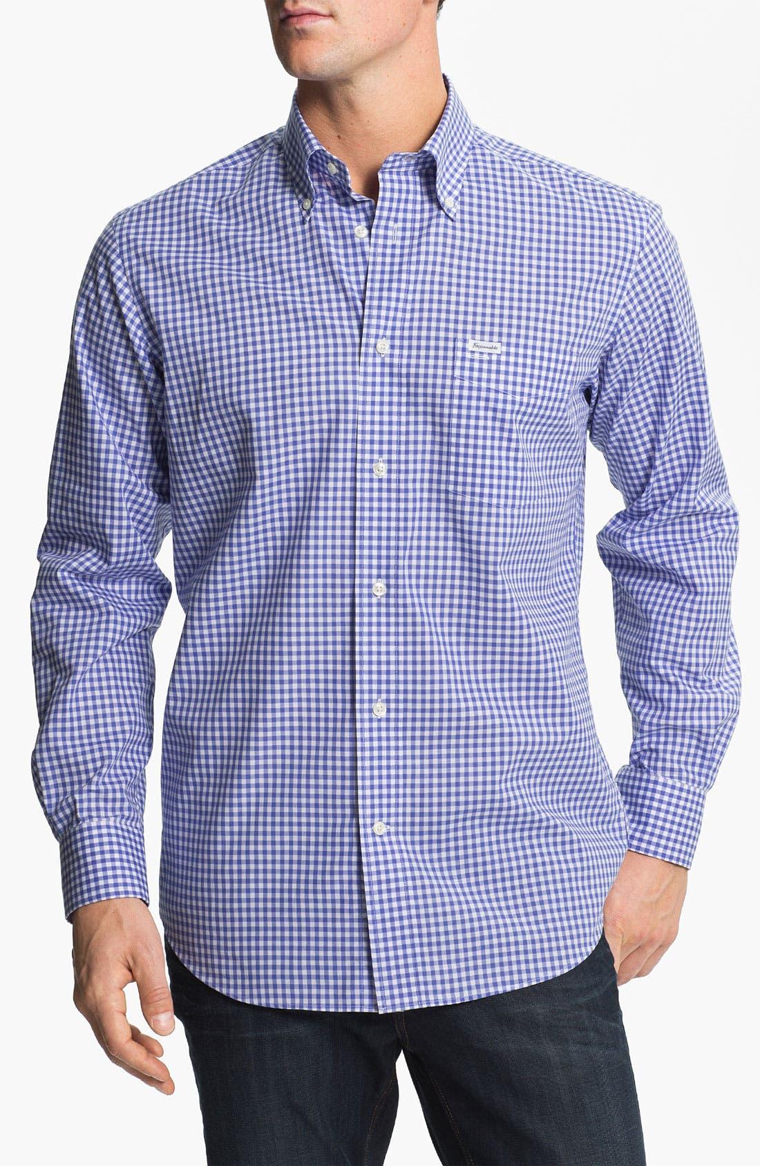 Main Image - Façonnable Classique Fit Sport Shirt