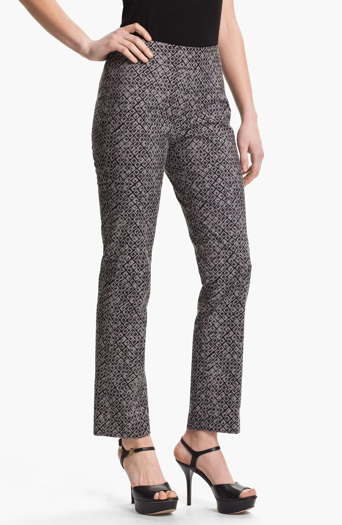 Alternate Image 1 Selected - Nic + Zoe 'Dotty Squares' Ankle Pants
