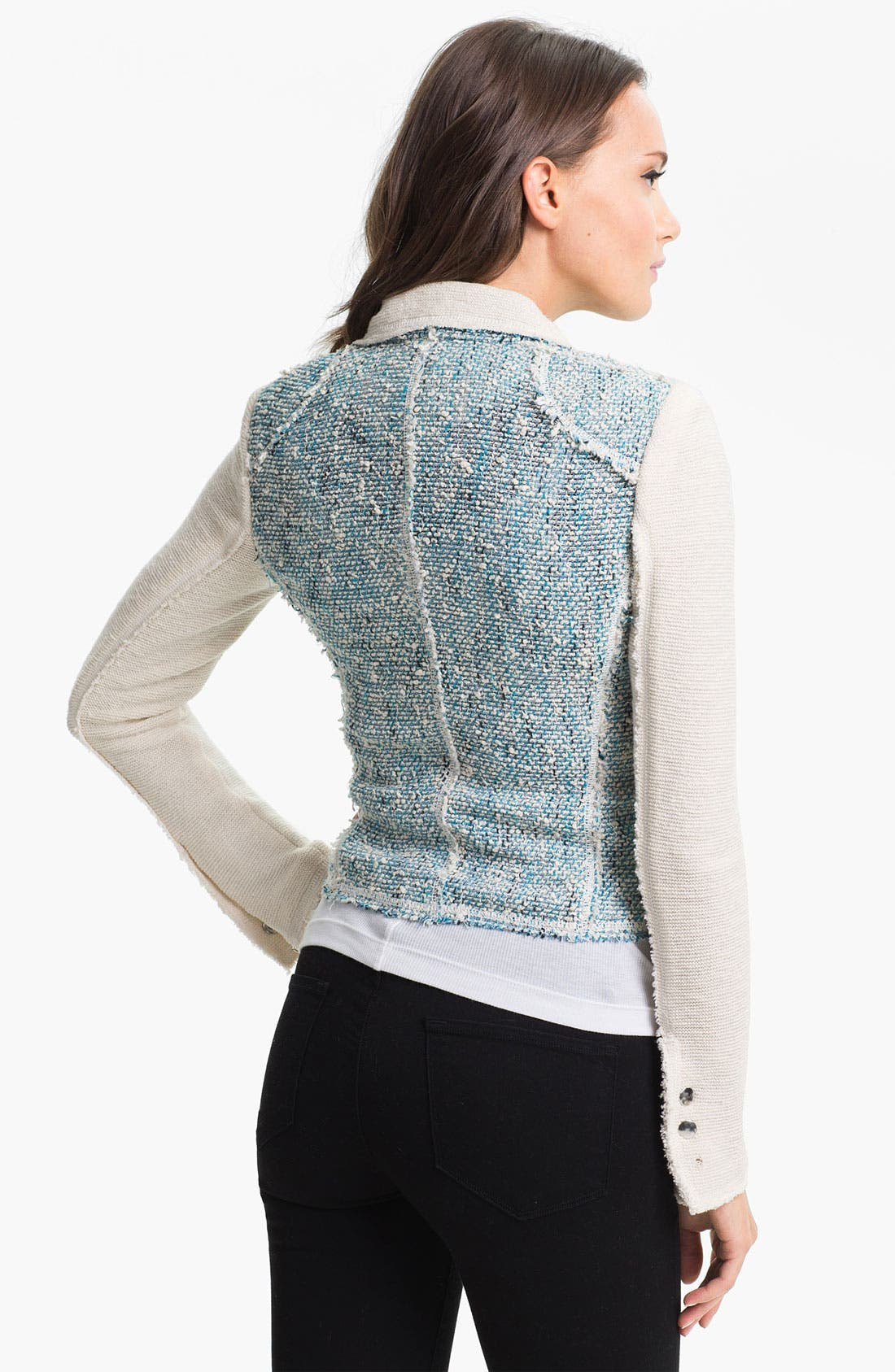 Alternate Image 2  - Rebecca Taylor Tweed Moto Jacket