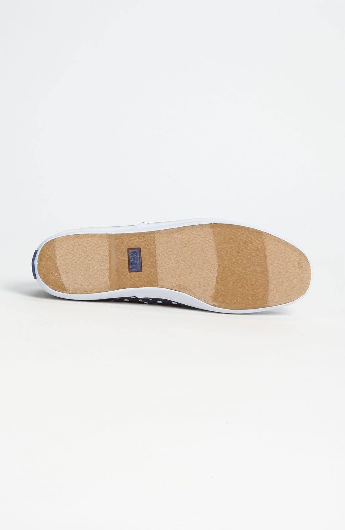 'Champion - Dot' Sneaker,                             Alternate thumbnail 4, color,                             Navy/ White
