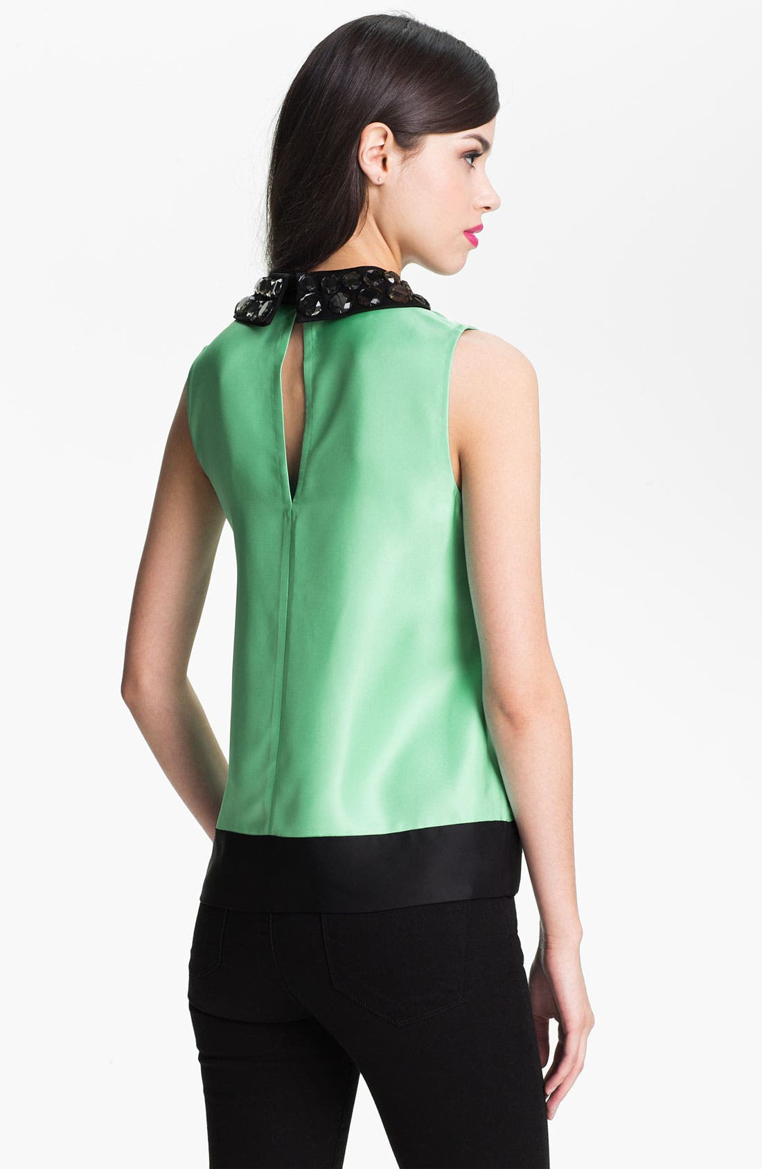 Alternate Image 2  - kate spade new york 'harlow' embellished top
