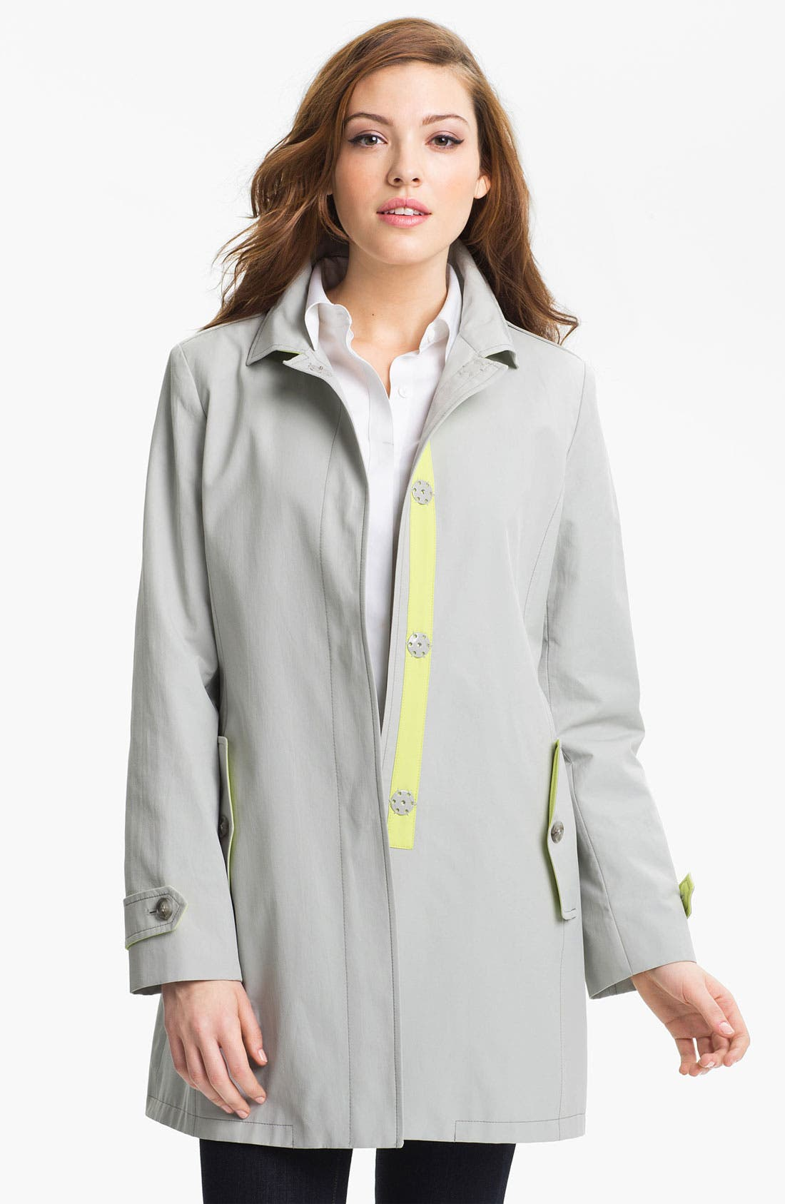 Alternate Image 1 Selected - Cinzia Rocca Convertible Collar Coat