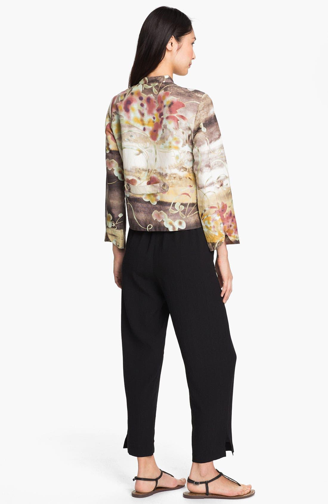 Alternate Image 5  - Citron Silk & Linen Jacket