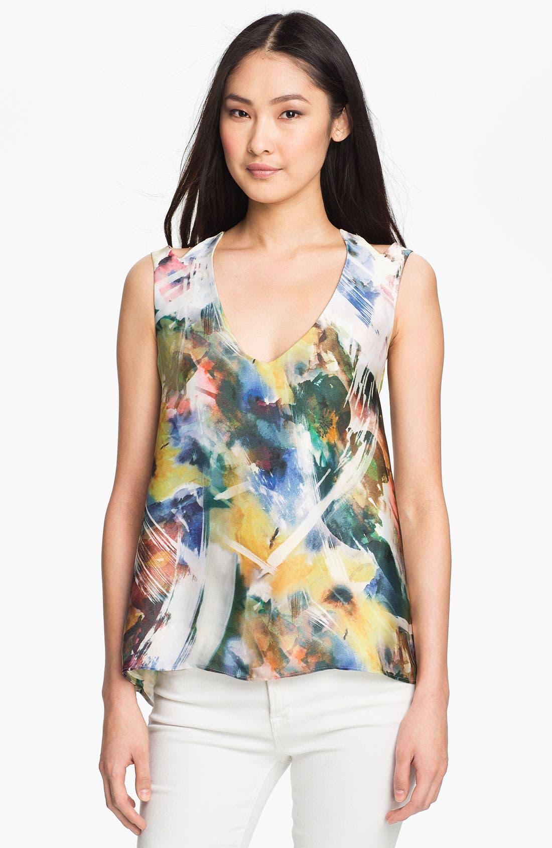 Main Image - Kay Celine Digital Floral Print Tank