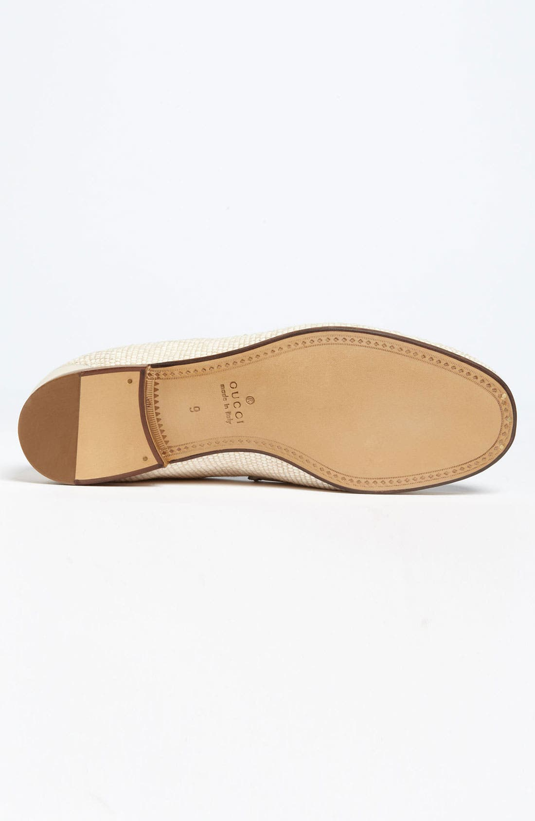 Alternate Image 4  - Gucci 'Roos' Straw Bit Loafer