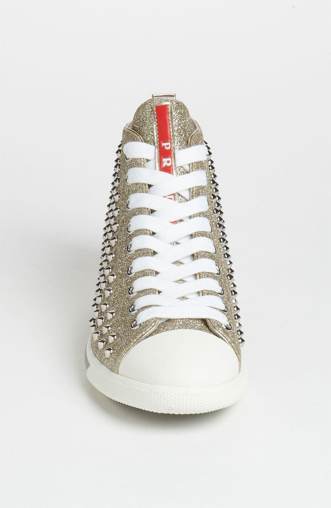 Alternate Image 3  - Prada High Top Sneaker