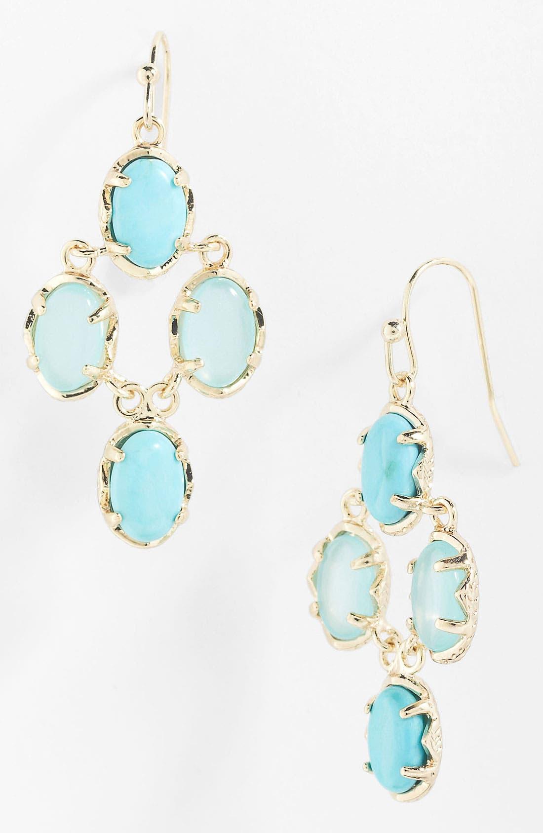 Alternate Image 1 Selected - Kendra Scott 'Melly' Chandelier Earrings