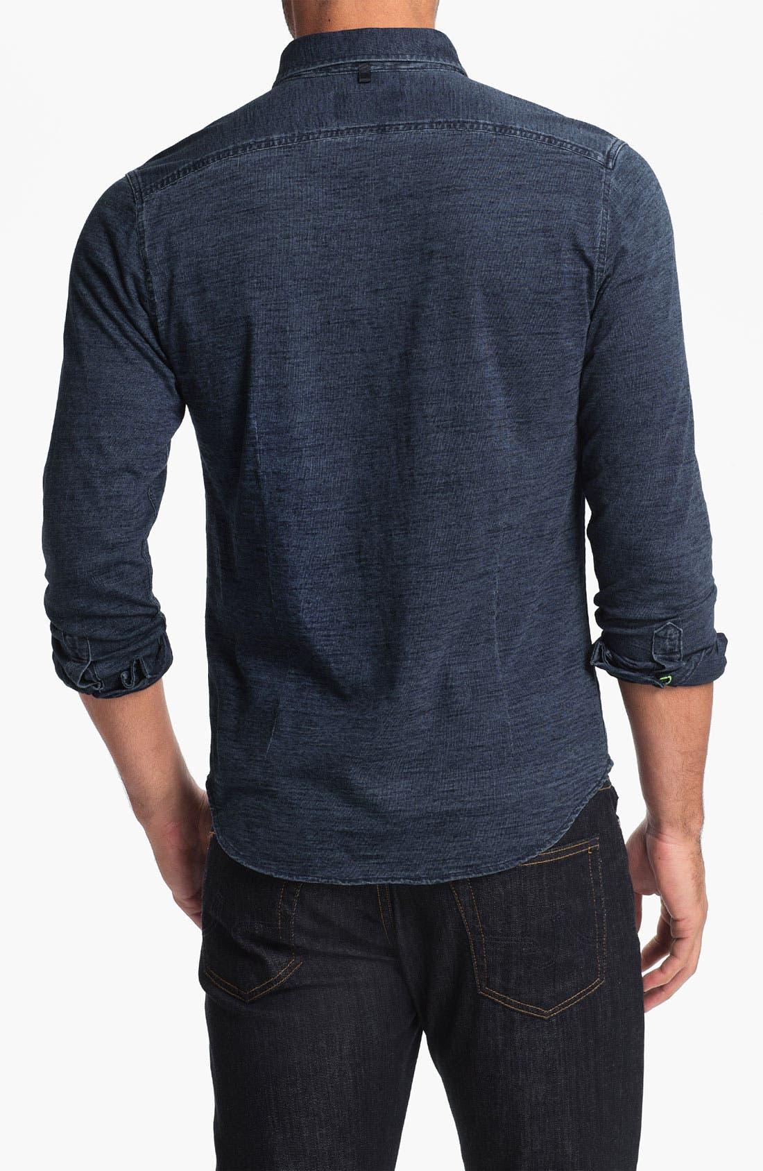 Alternate Image 2  - W.R.K 'Tailor' Trim Fit Sport Shirt