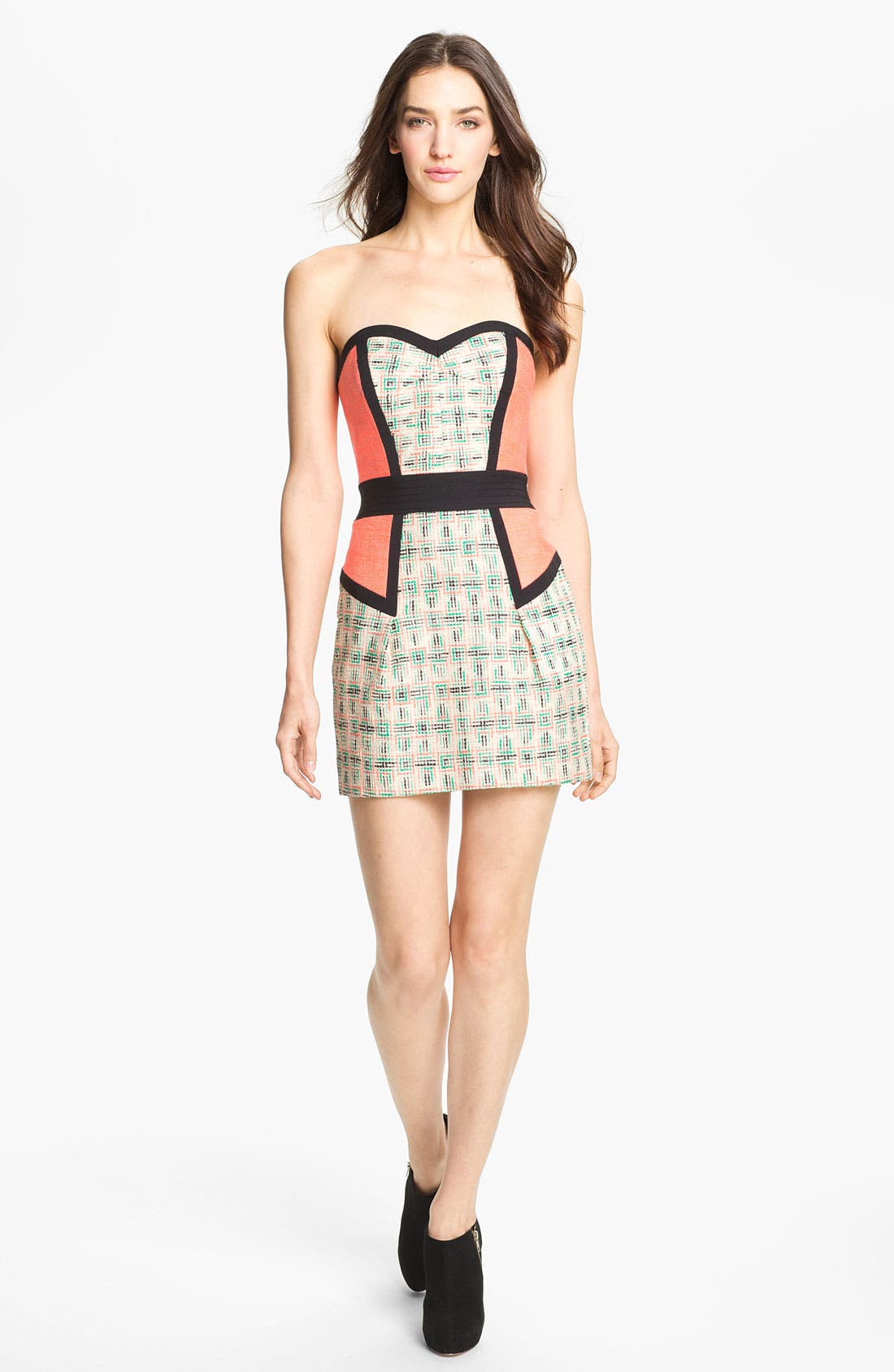 Main Image - Milly 'Dianna' Woven Sheath Dress