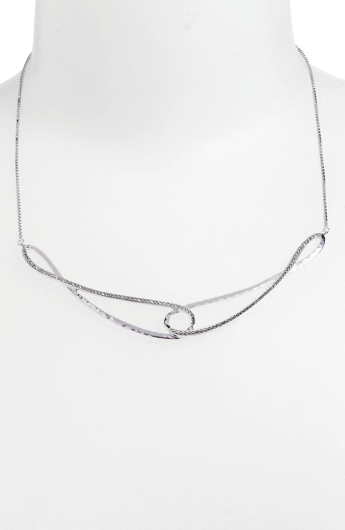 Main Image - Judith Jack 'Fluidity' Frontal Necklace