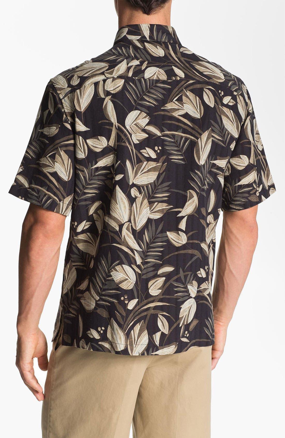 Alternate Image 2  - Tori Richard 'Bird Watcher' Silk & Linen Sport Shirt