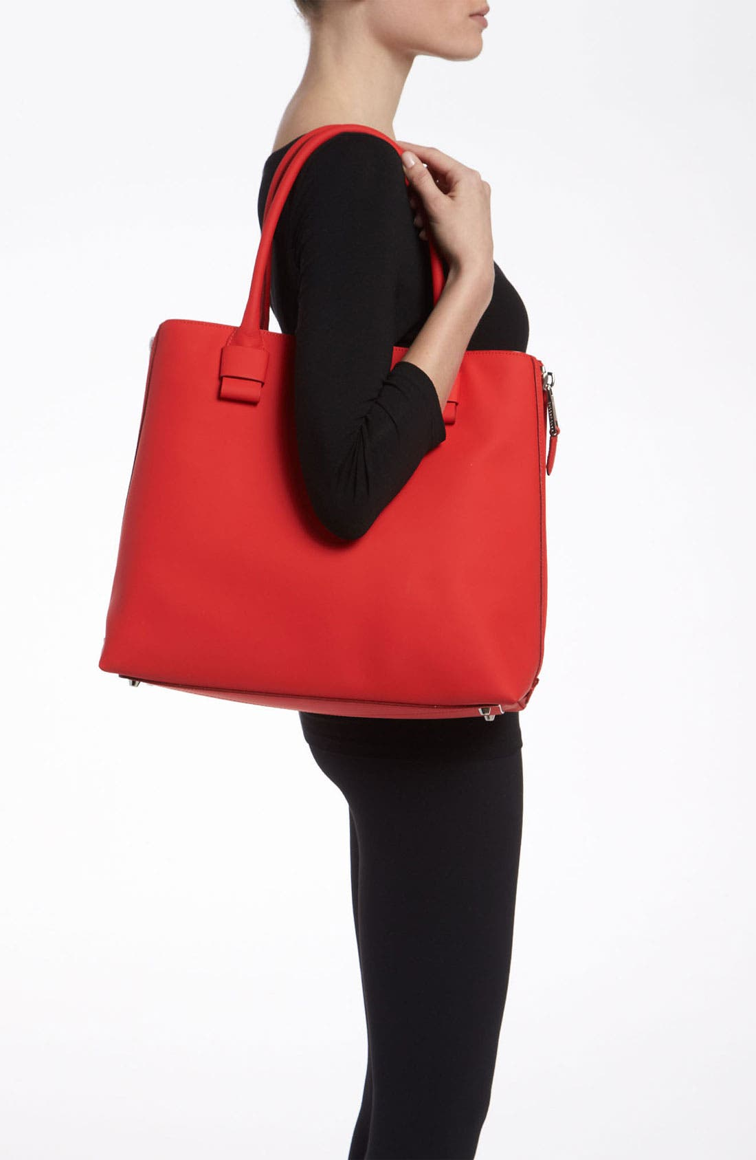 Alternate Image 2  - MARC JACOBS 'Sheila' Rubberized Leather Tote