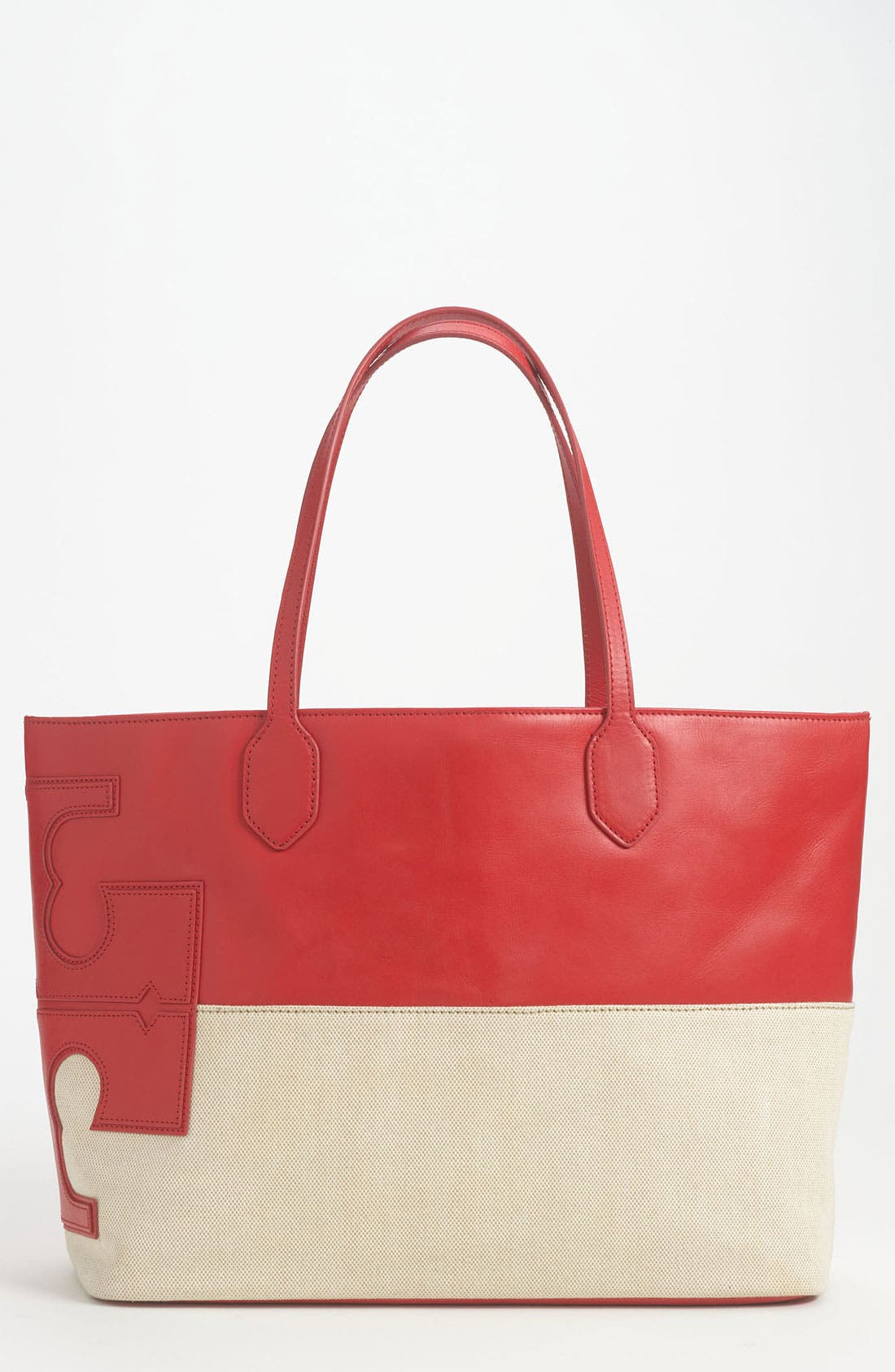Main Image - Tory Burch 'Stacked T' Tote