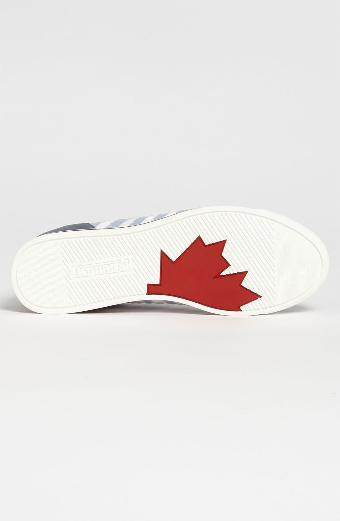 Alternate Image 4  - Dsquared2 '419' Stripe Sneaker
