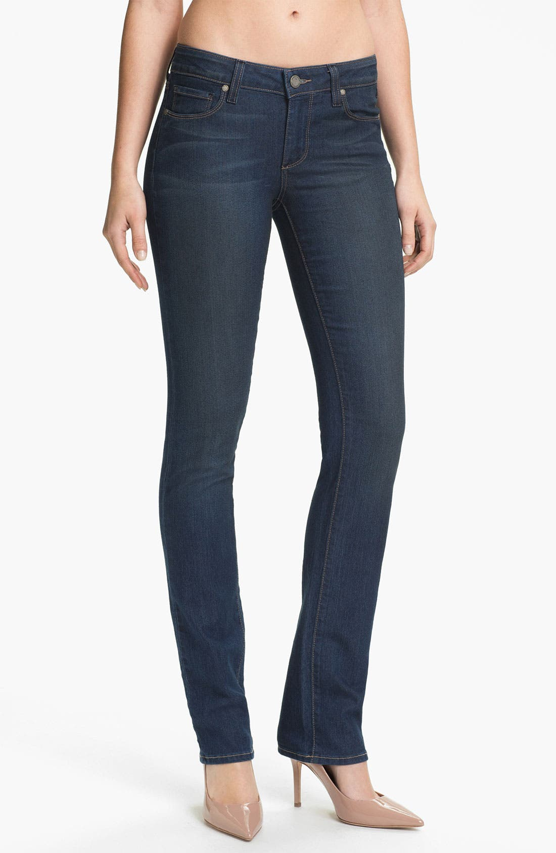 Alternate Image 1 Selected - Paige Denim 'Skyline' Straight Leg Stretch Denim Jeans (Finley)