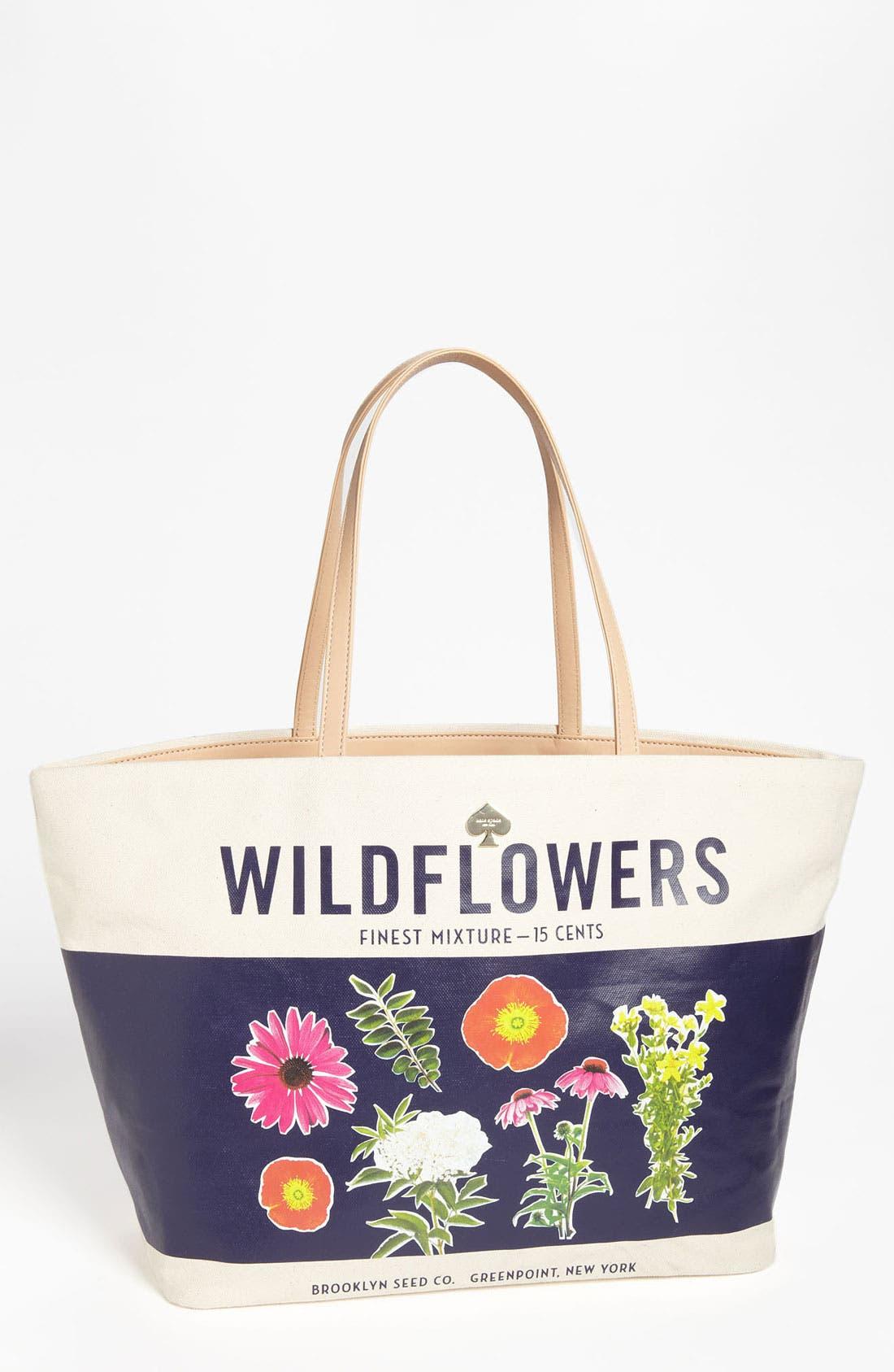 Alternate Image 1 Selected - kate spade new york 'wildflowers - harmony' tote