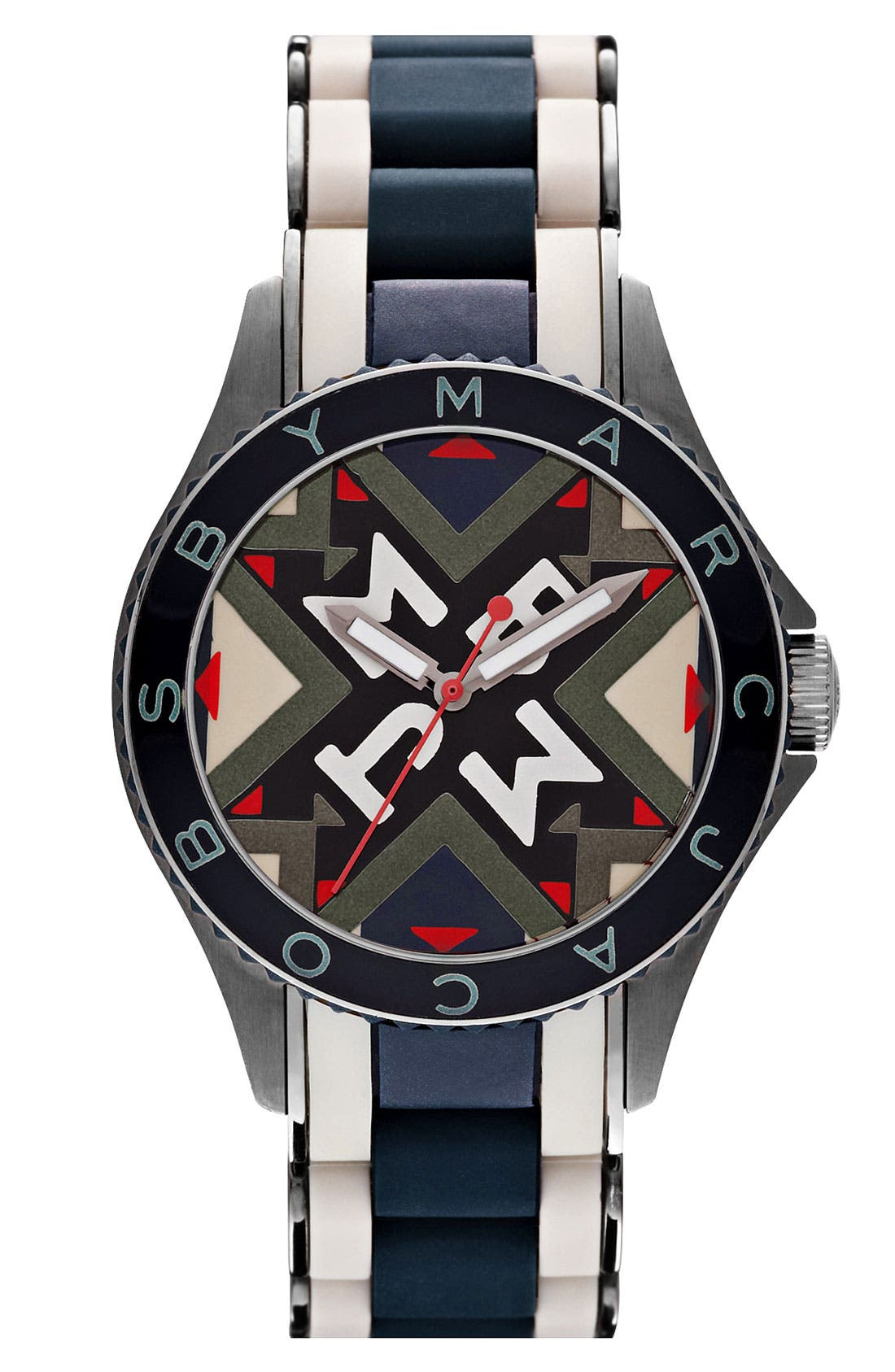 Main Image - MARC BY MARC JACOBS 'Rock' Silicone Bracelet Watch