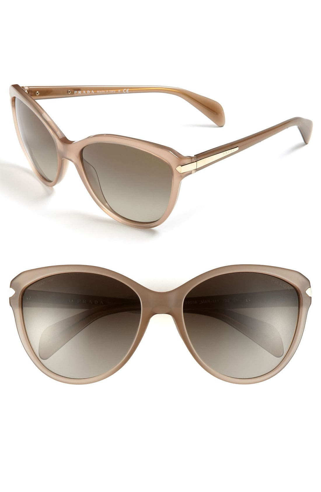 Alternate Image 1 Selected - Prada 59mm Cat's Eye Sunglasses