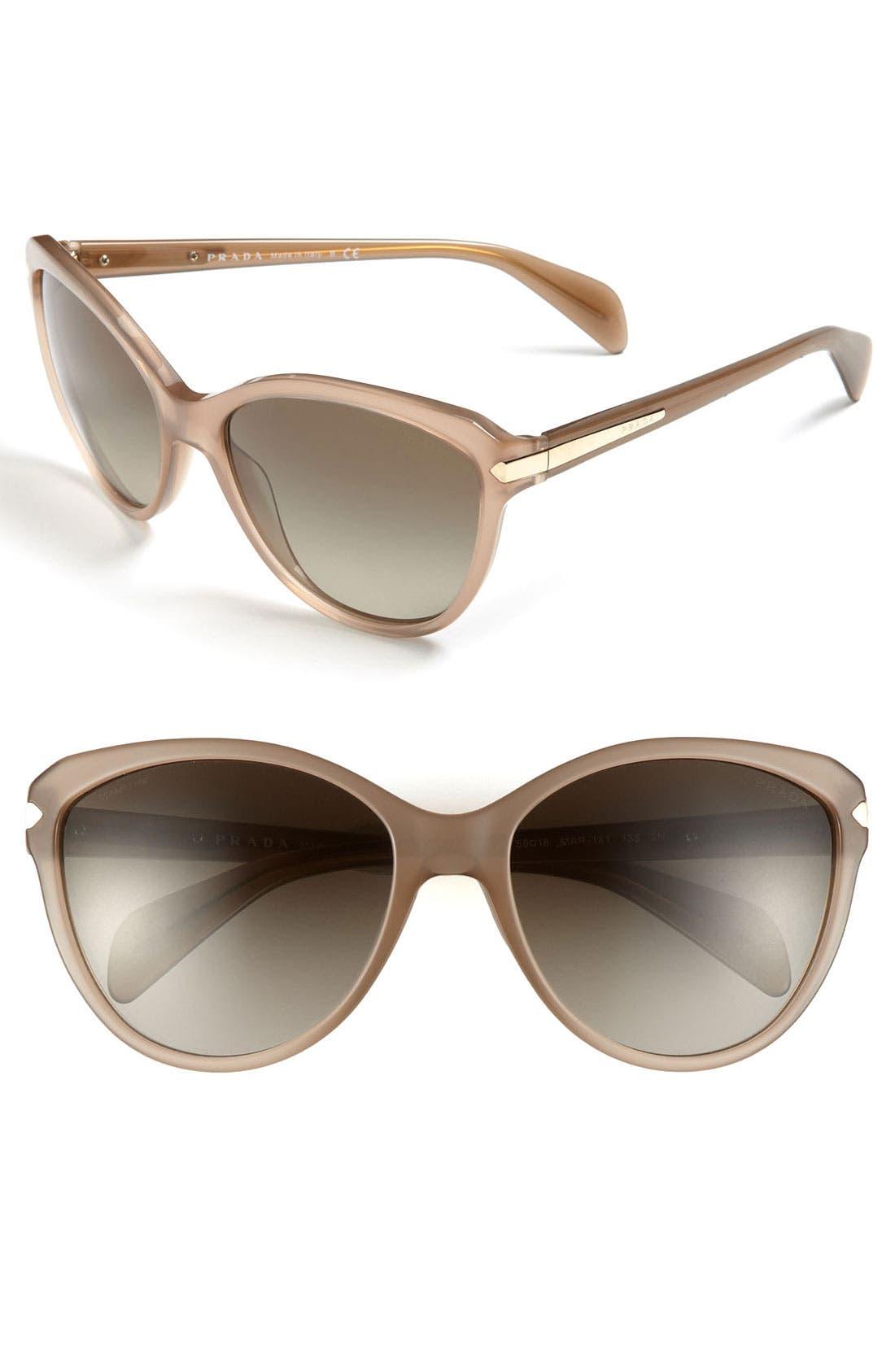 Main Image - Prada 59mm Cat's Eye Sunglasses