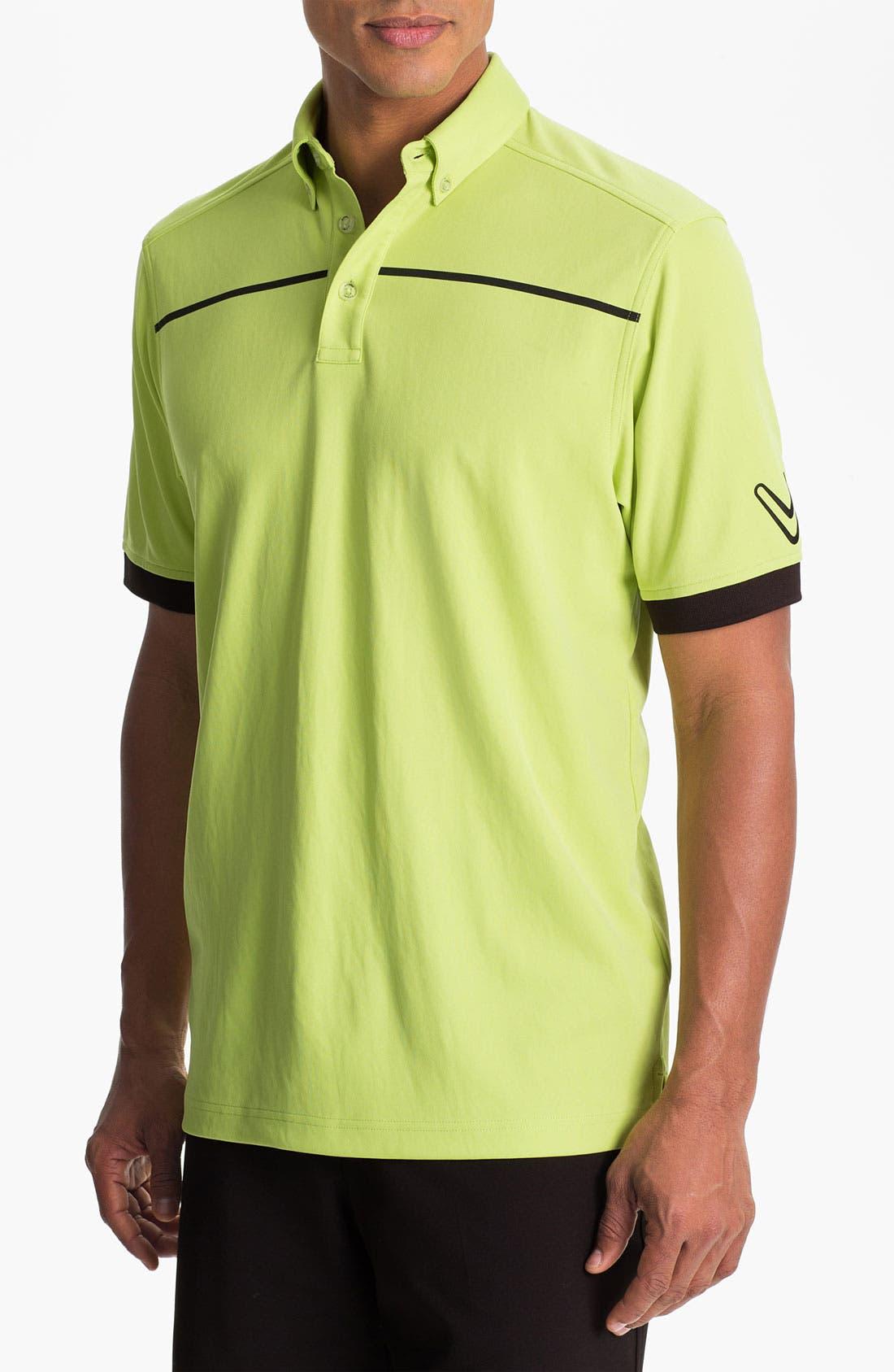 Alternate Image 1 Selected - Callaway Golf® Stripe Regular Fit Polo