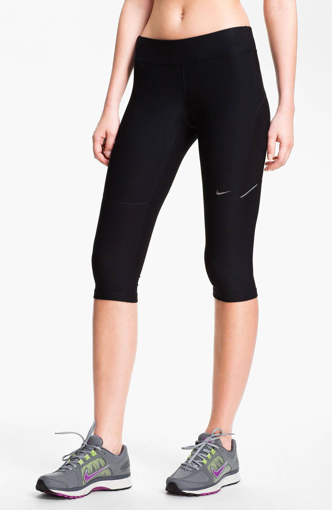 Alternate Image 1 Selected - Nike 'Filament' Capri Tights (Online Only)