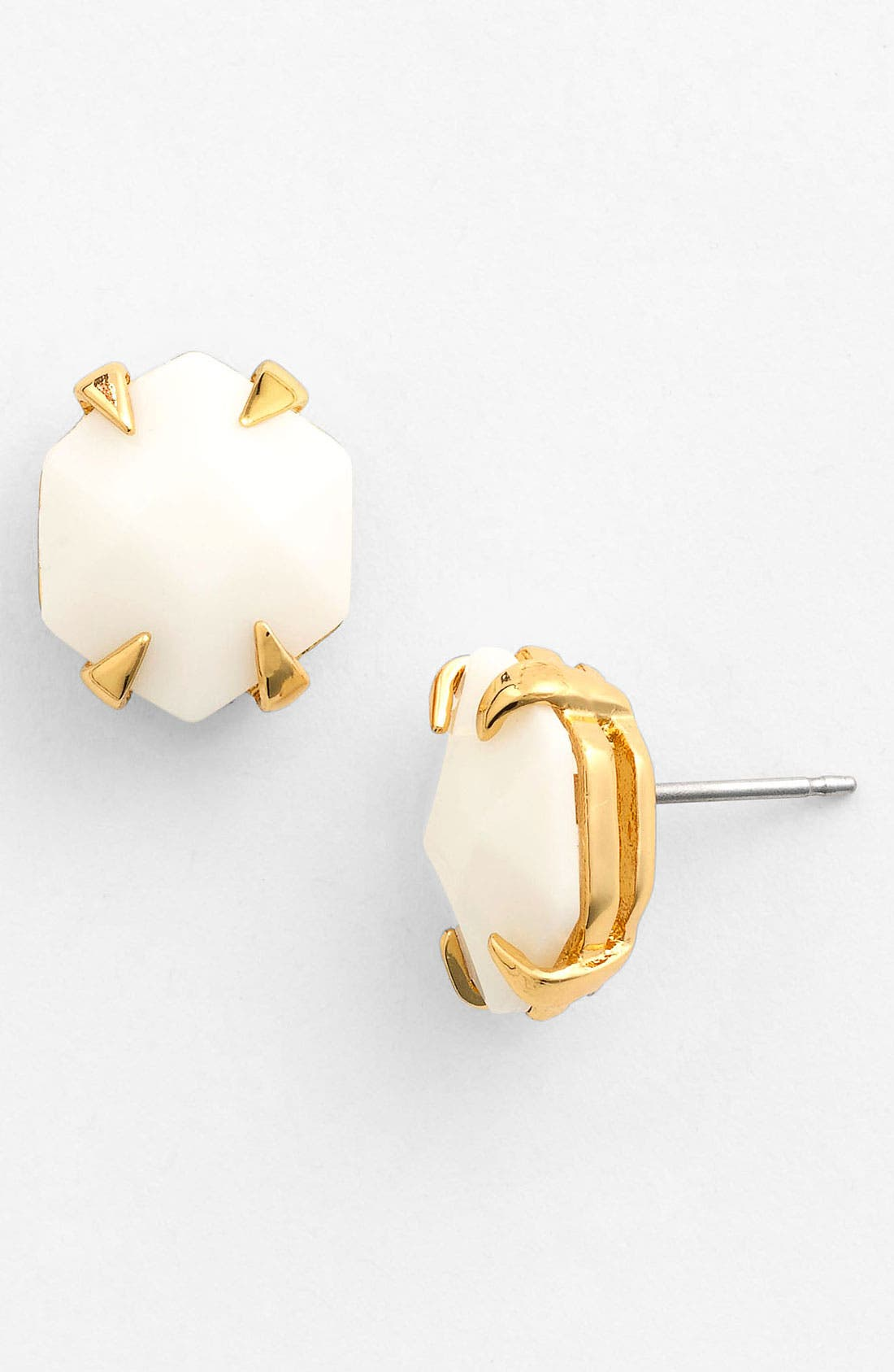 Alternate Image 1 Selected - Vince Camuto 'Bright Gems' Faceted Resin Stud Earrings