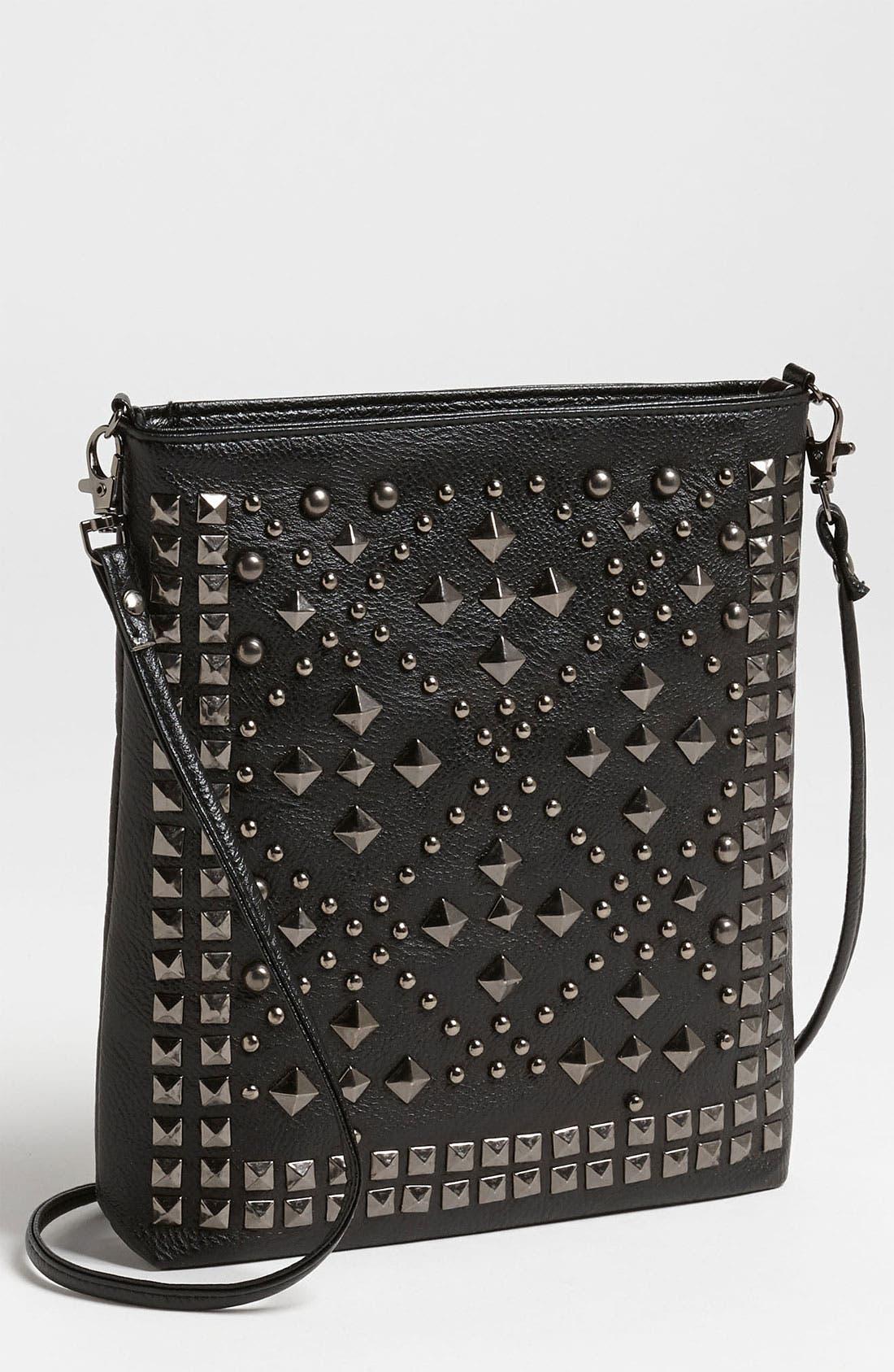 Alternate Image 1 Selected - Natasha Couture Studded Crossbody Bag