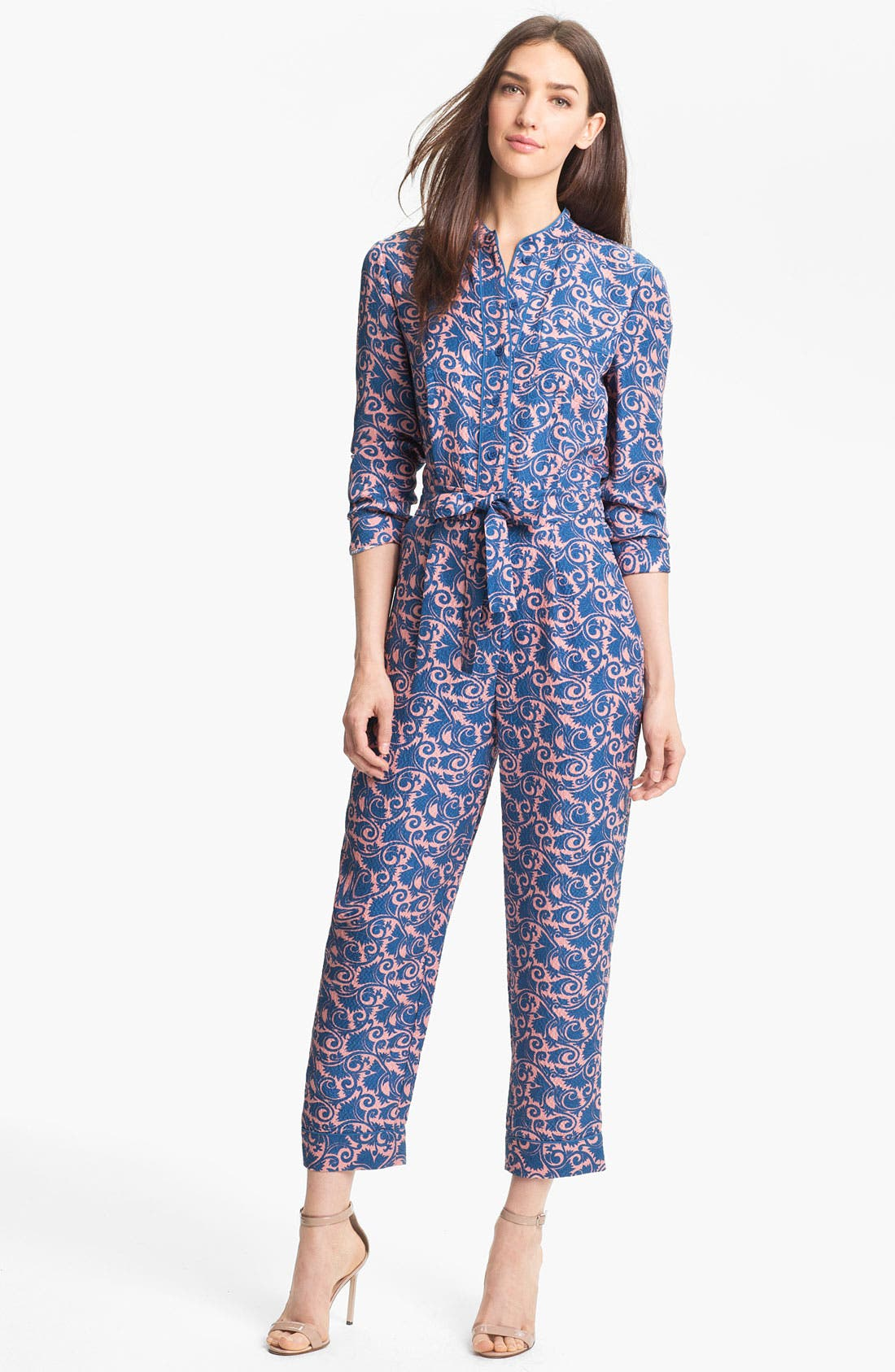 Alternate Image 1 Selected - MARC BY MARC JACOBS 'Tootsie' Silk Jumpsuit