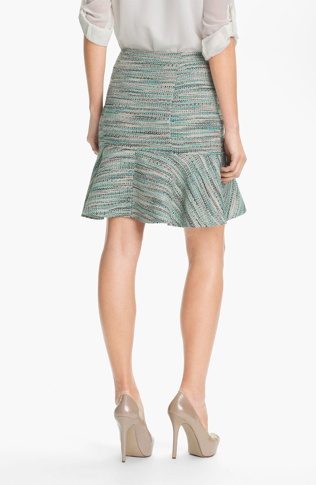 Alternate Image 2  - DKNYC Peplum Hem Skirt