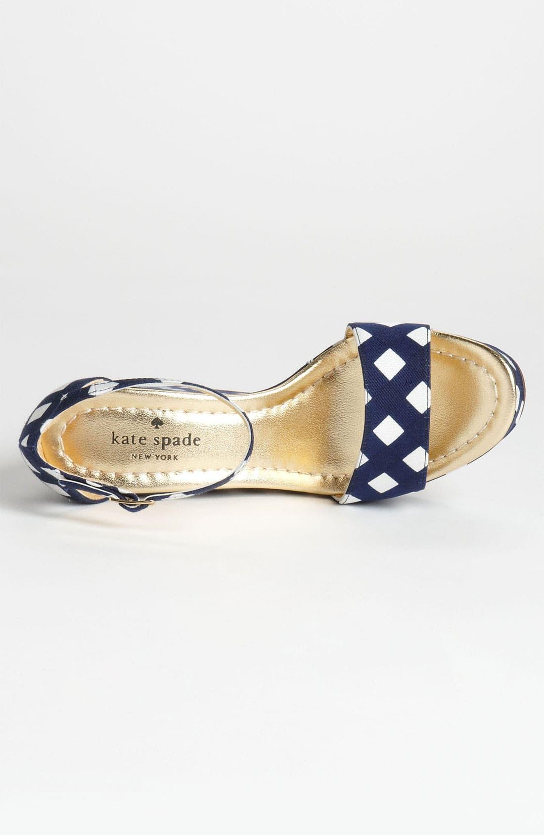 Alternate Image 3  - kate spade new york 'dabney' wedge sandal