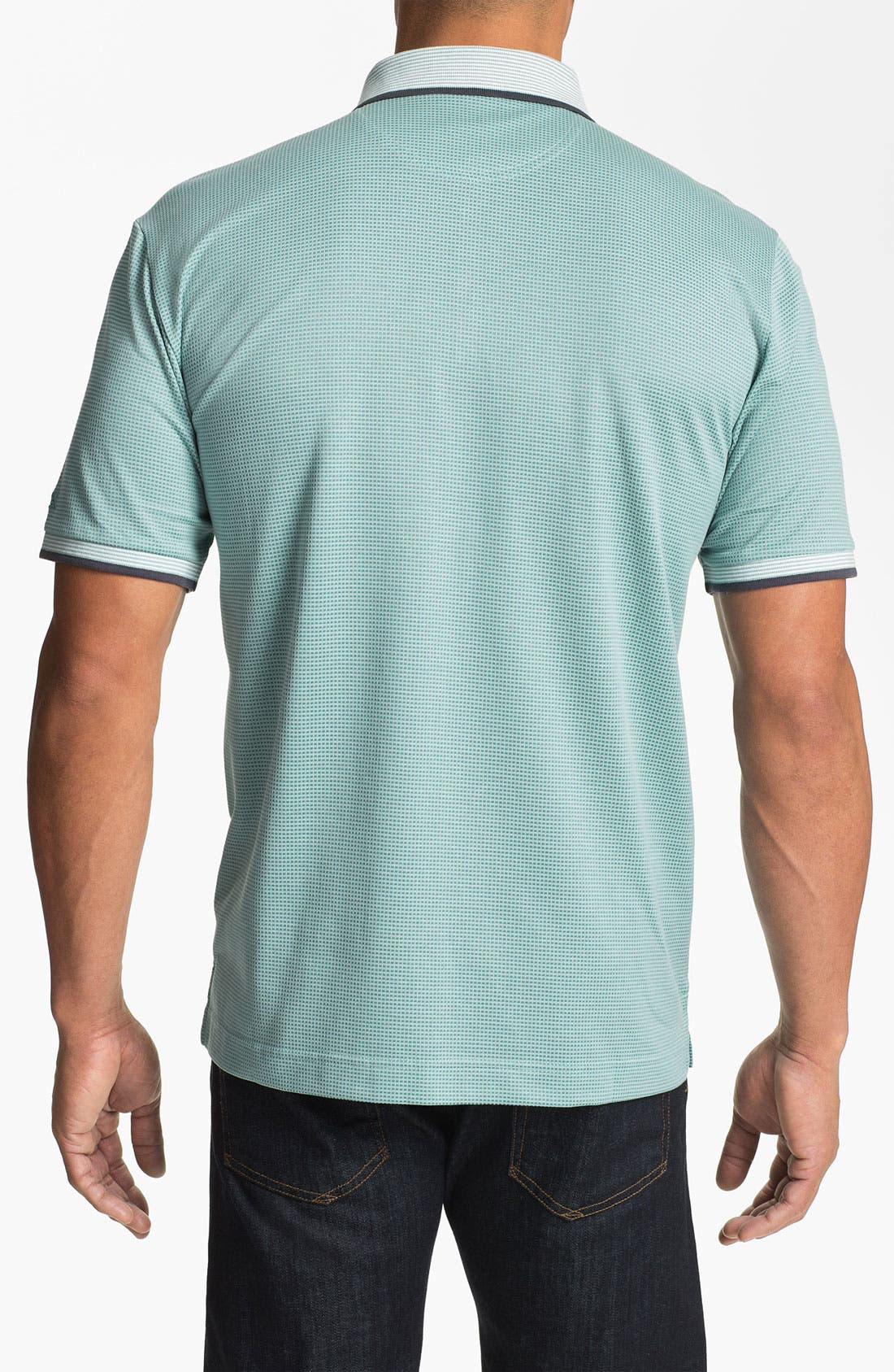 Alternate Image 2  - Cutter & Buck 'Luxe - Shaw' DryTec Golf Polo (Big & Tall) (Online Only)