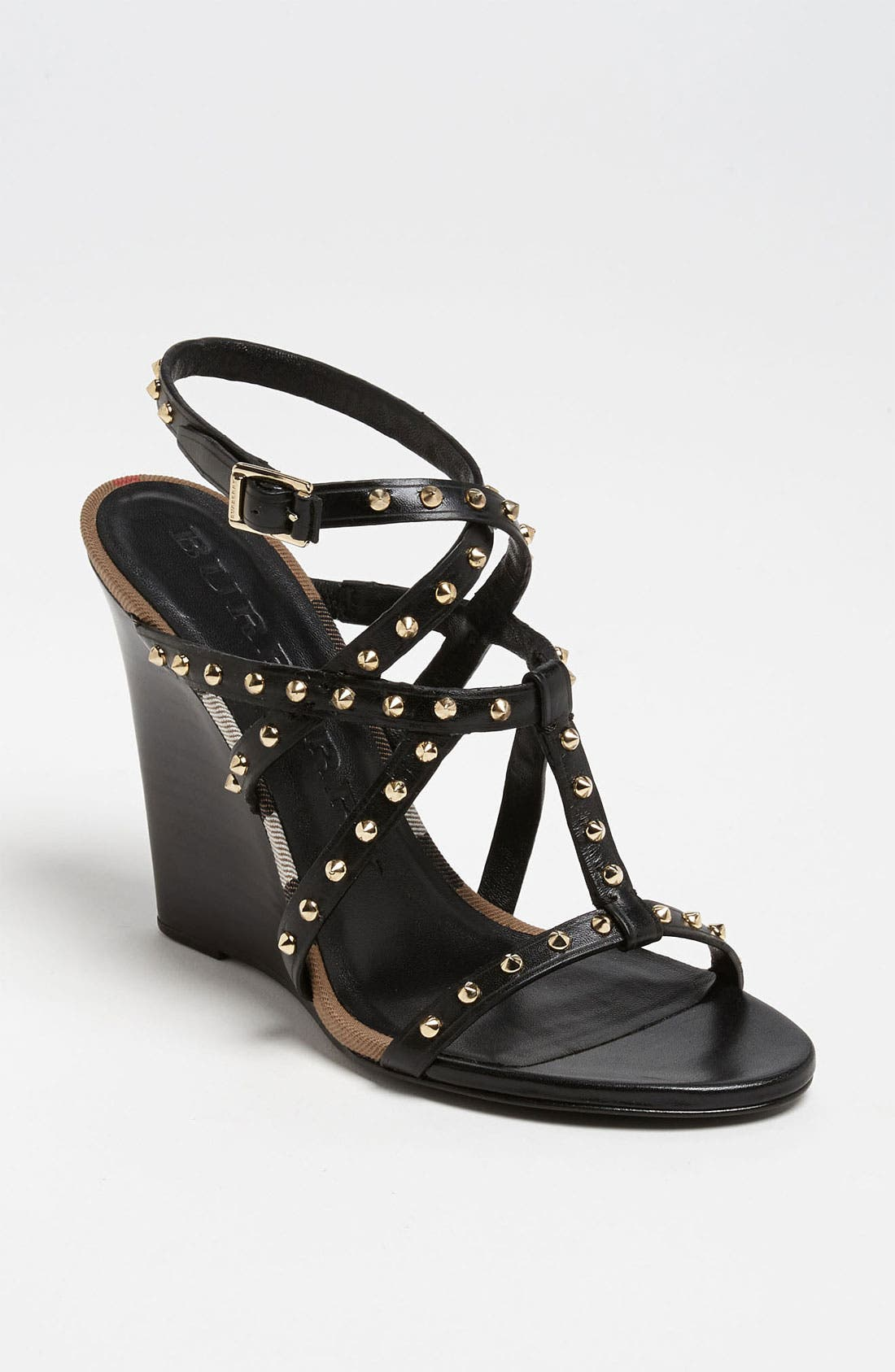 Main Image - Burberry 'Towney' Wedge Sandal