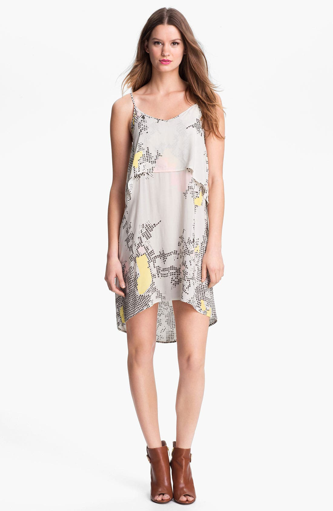 Alternate Image 1 Selected - LAmade Print Slipdress