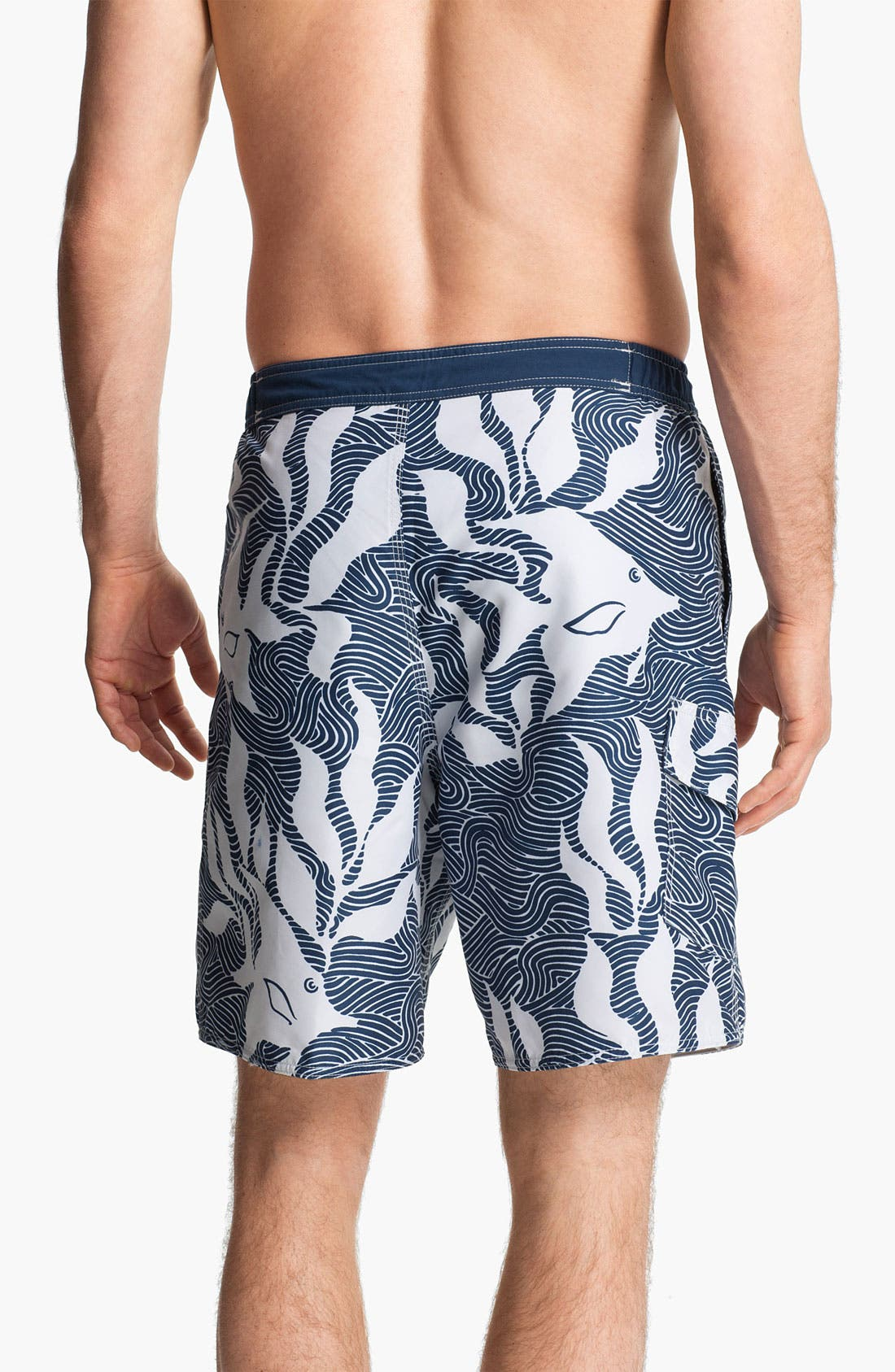 Alternate Image 2  - Quiksilver Waterman Collection 'Angler' Board Shorts