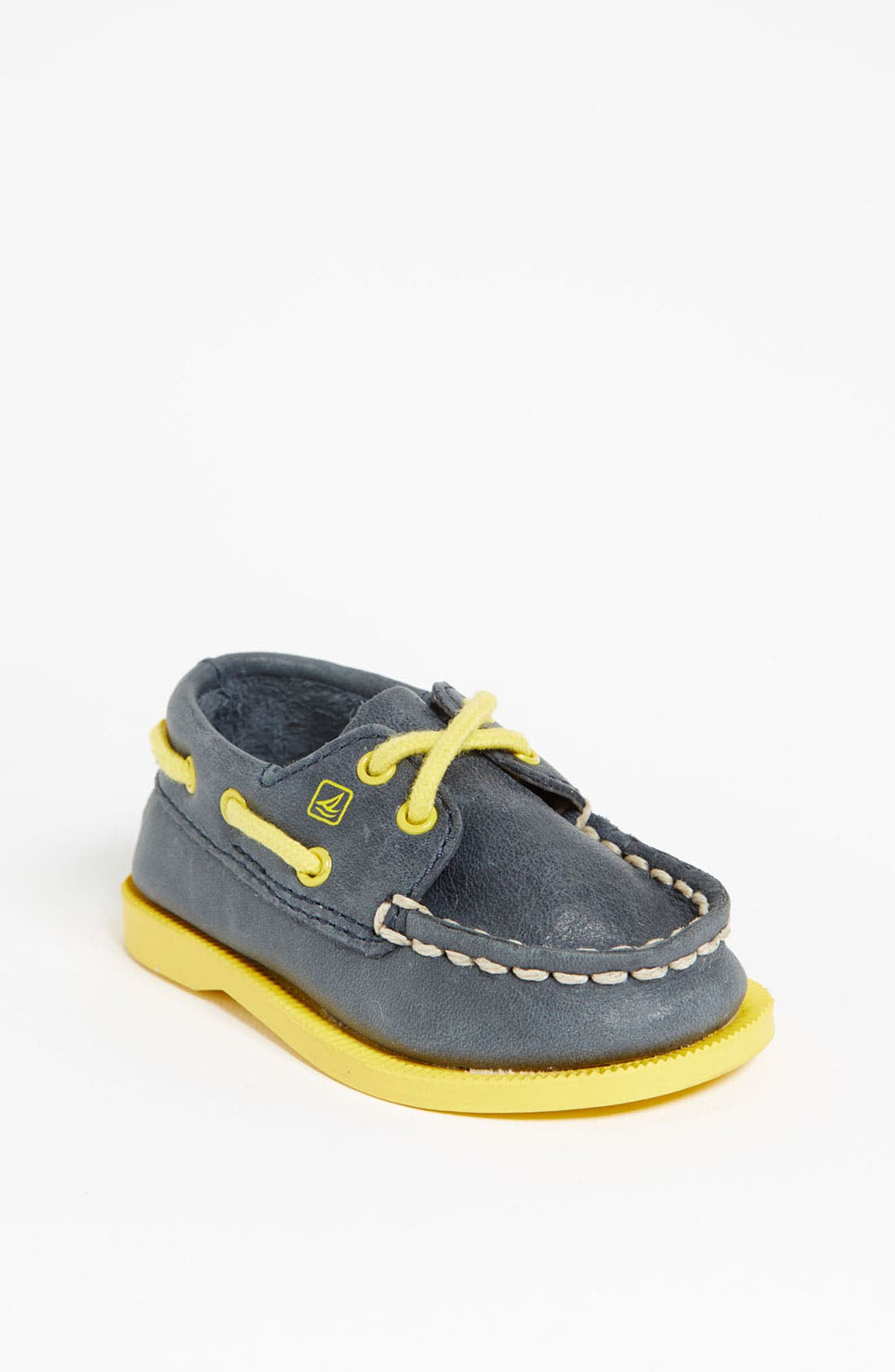 Main Image - Sperry Top-Sider® Kids 'Authentic Original' Crib Shoe (Baby)