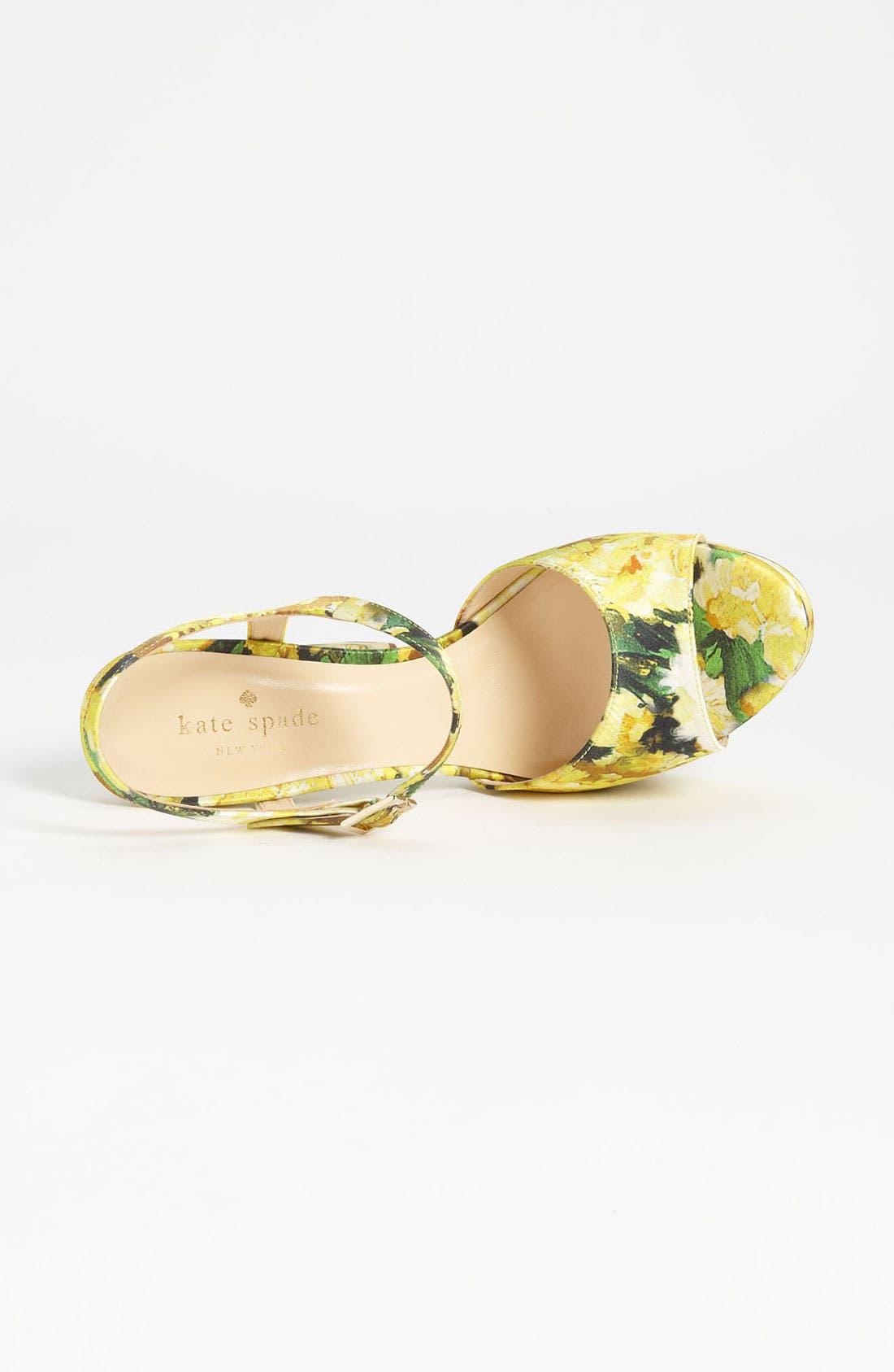 Alternate Image 3  - kate spade new york 'ila' sandal