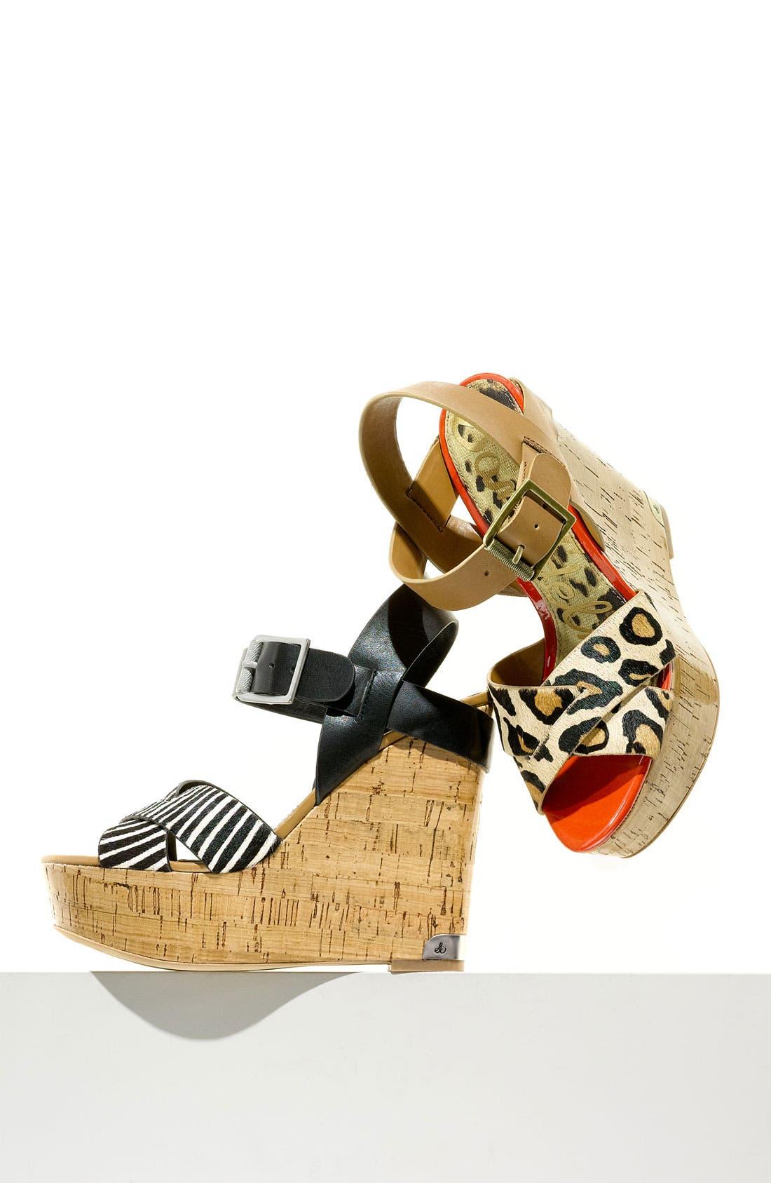 Alternate Image 6  - Sam Edelman 'Sasha' Wedge Sandal