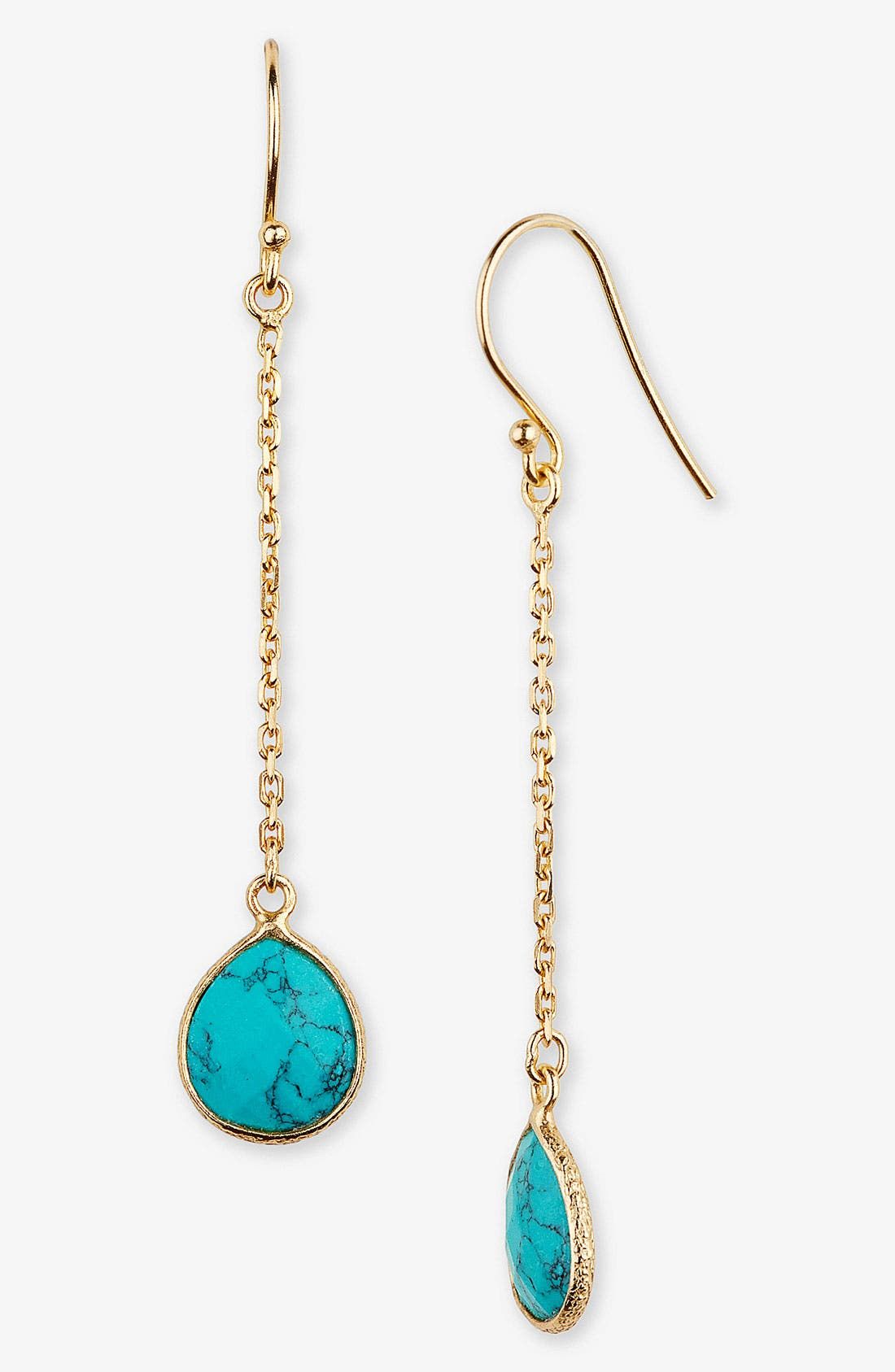 Alternate Image 1 Selected - Argento Vivo 'Bauble Bar' Linear Earrings (Nordstrom Exclusive)