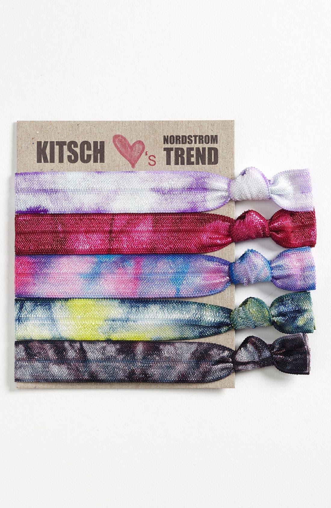 Alternate Image 1 Selected - Kitsch Hair Ties (5-Pack)