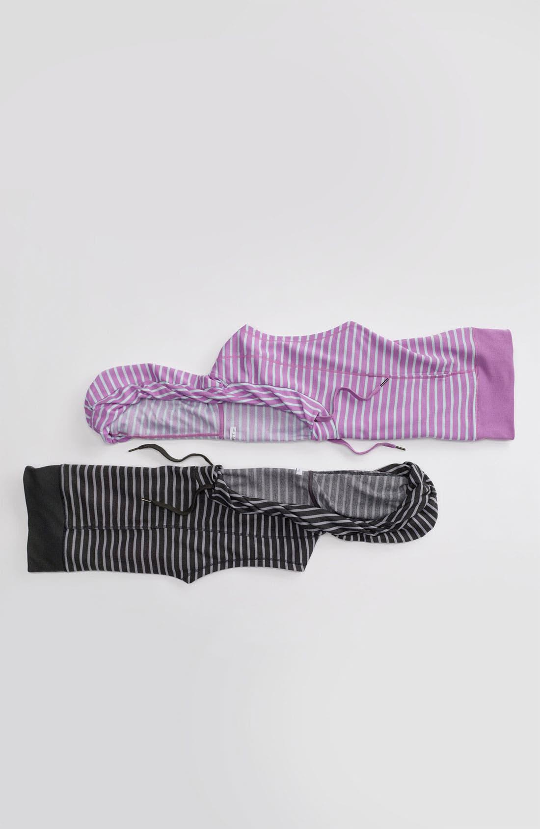 Alternate Image 4  - Unit-Y 'Cross Hook' Stripe Hooded Pullover