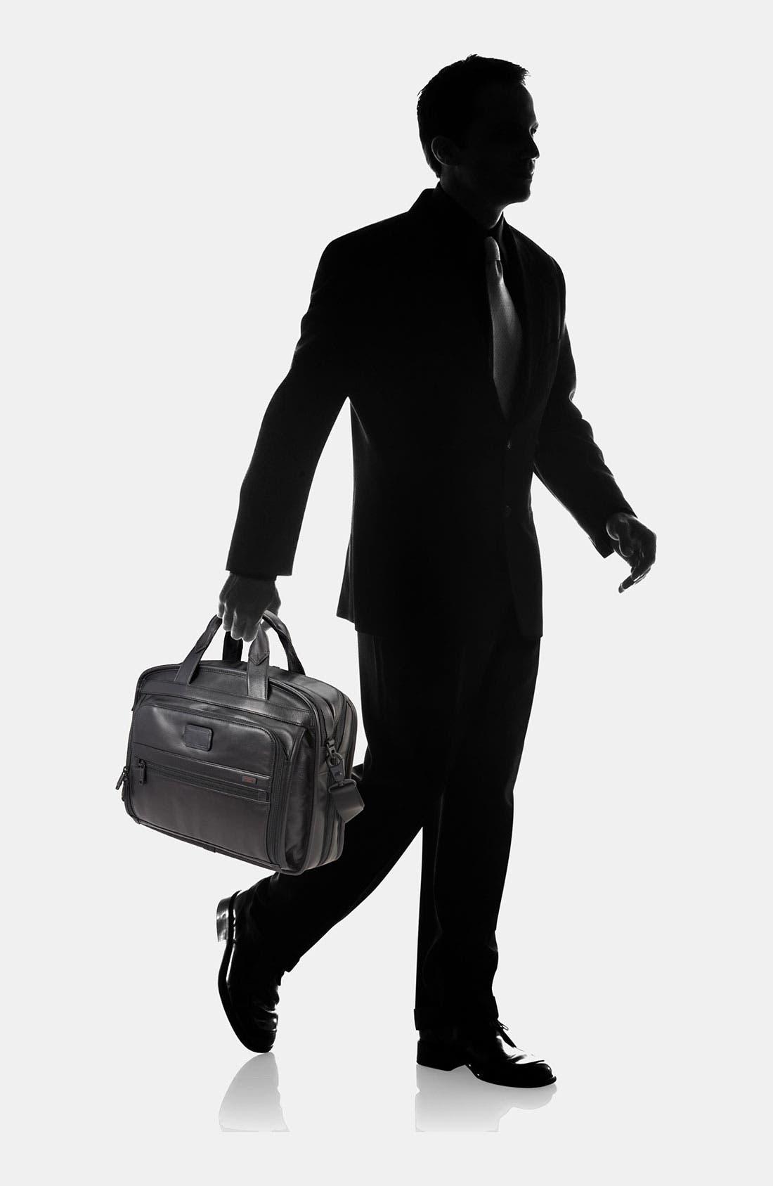Alternate Image 6  - Tumi 'Alpha' Leather Organizer Briefcase