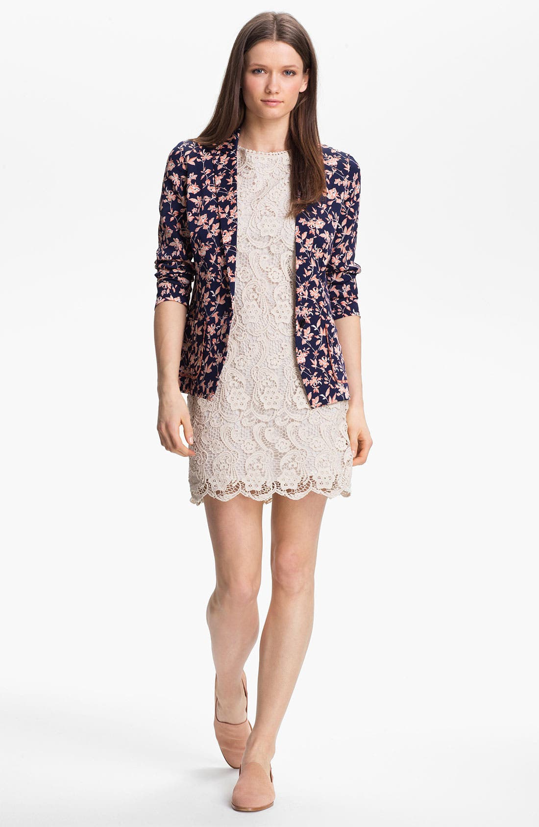 Alternate Image 4  - Joie 'Vionne' Cotton Shift Dress