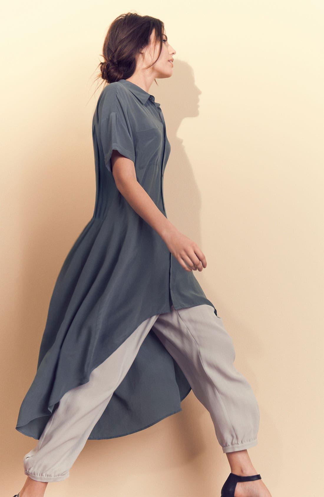 Alternate Image 4  - Eileen Fisher Silk Crêpe de Chine Shirtdress