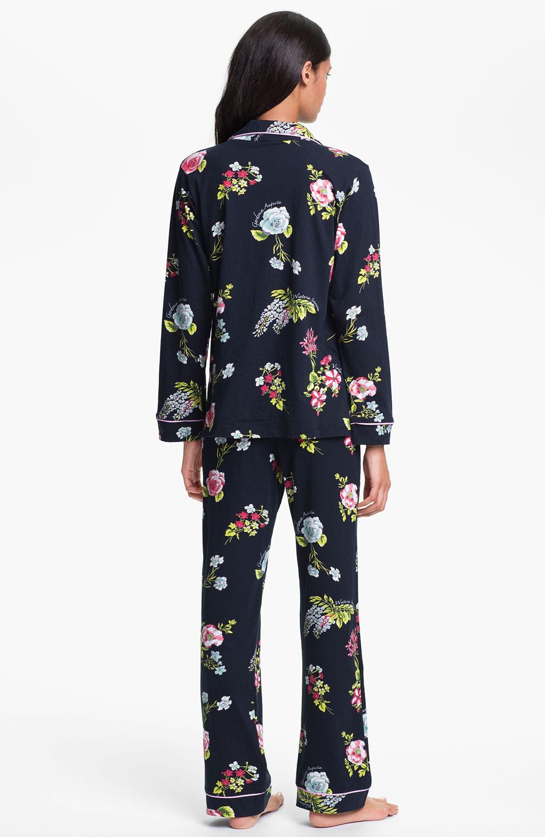 Alternate Image 2  - BedHead Classic Knit Pajamas