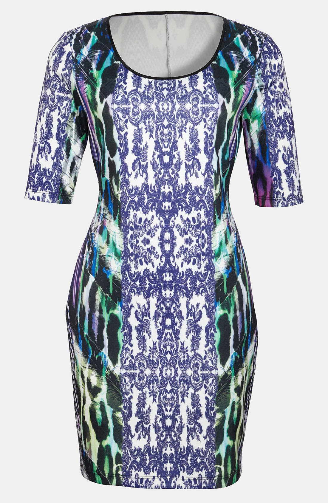 Main Image - Cosette Print Body-Con Dress
